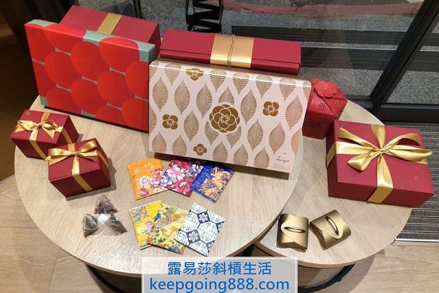 小茶栽堂東門店禮盒展示
